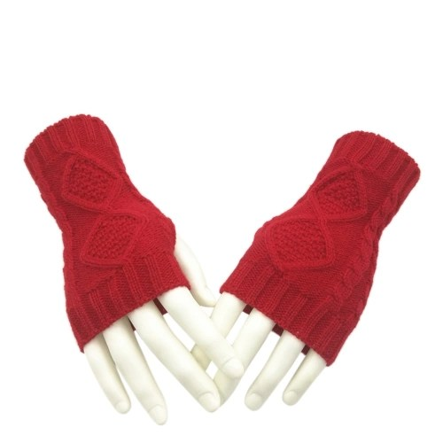 Winter Fall Knitted Gloves