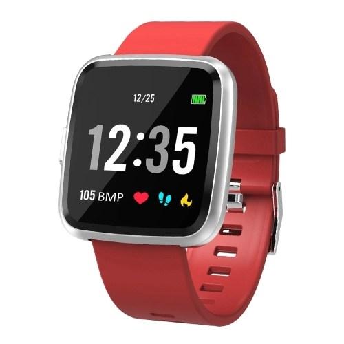 Smart Watch 1.3In Full Screen Touch Fitness Tracker Watch