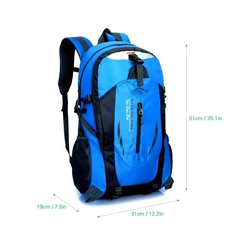 30L Water-resistant Hiking Camping Backpack