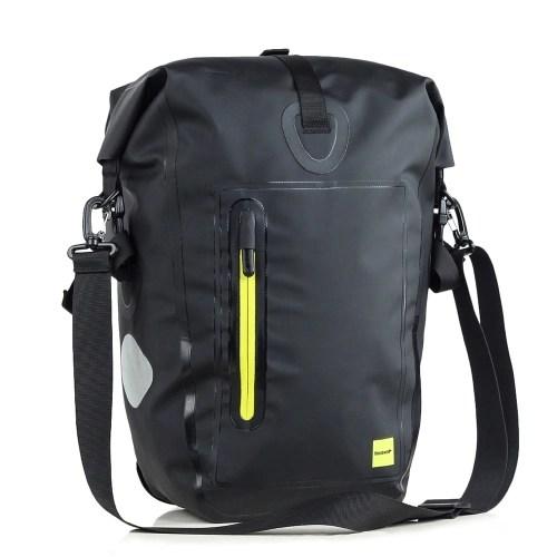 25L Waterproof Bike Bicycle Rear Rack Pannier Bag