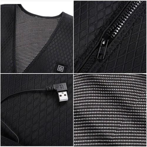 Winter Warm Waistcoat Electric Heating Vest
