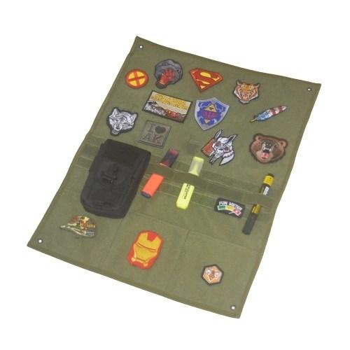 EDC Tactics Badge Display Cloth