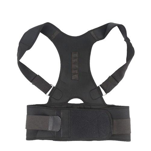 Magnetic Posture Corrector Adjustable Back Shoulder Waist Support Braces