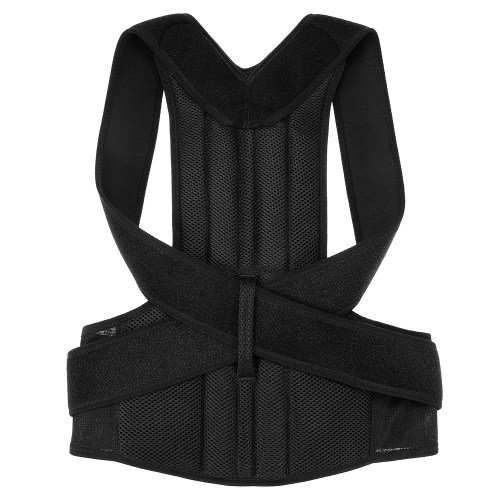 Lumbar Upper Lower Back Support Strap Belt Men Women