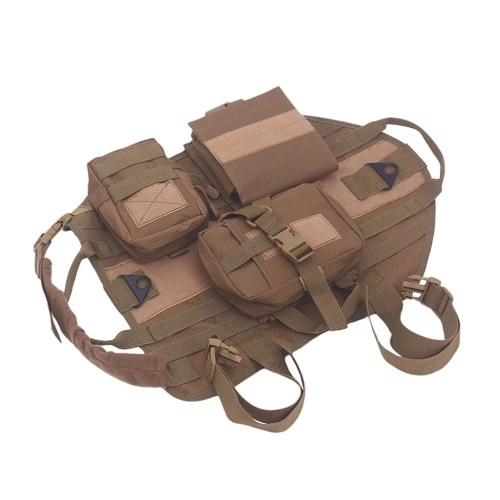 Dog Outdoor Vest Pitbull Training Equipment