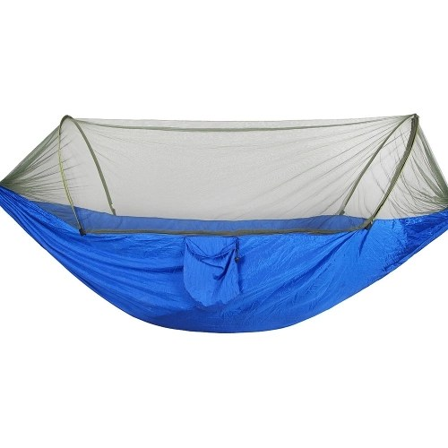 Portable Outdoor Camping Hammock with Mosquito Bugs Net