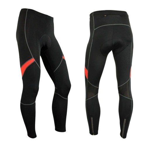Mens 3D Gel Padded Bicycle Compression Tights