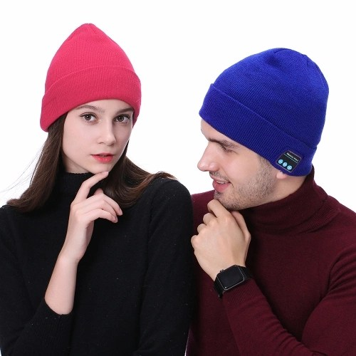 Outdoor Winter Knitted Music Hat
