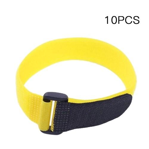 10pcs Reusable Nylon Fishing Rod Belt Holder Tie