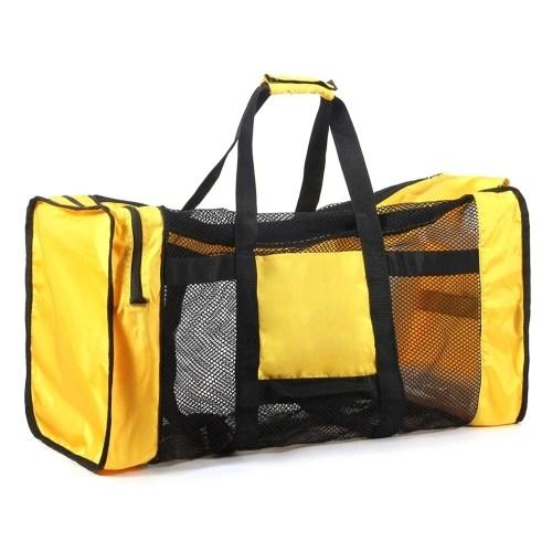 100L Mesh Duffle Gear Bag for Diving