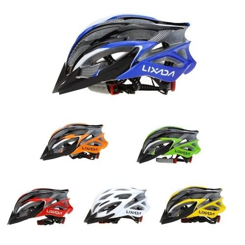 Lixada 25 Vents Ultralight Integrally-molded EPS Outdoor Sports Mtb/Road Cycling Mountain Bike Bicycle Adjustable Skating Helmet