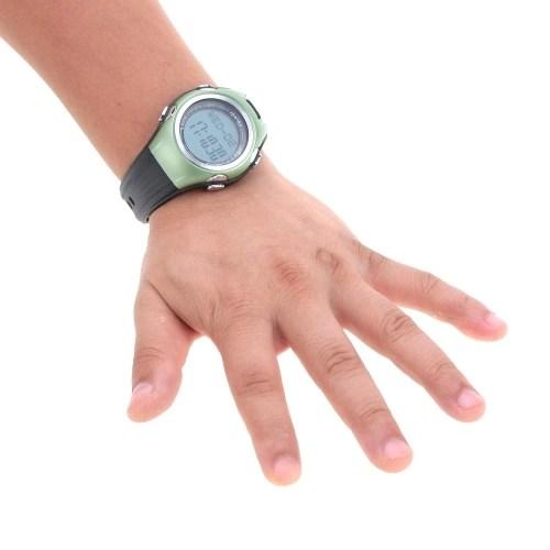 Men Women Multifunctional 3D Pedometer Watch Outdoor Sports Digital LED Wristwatch