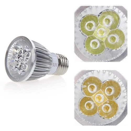 Dimmable LED Light Spotlight Lamp Bulb White 5W E27 185-265V Energy-saving