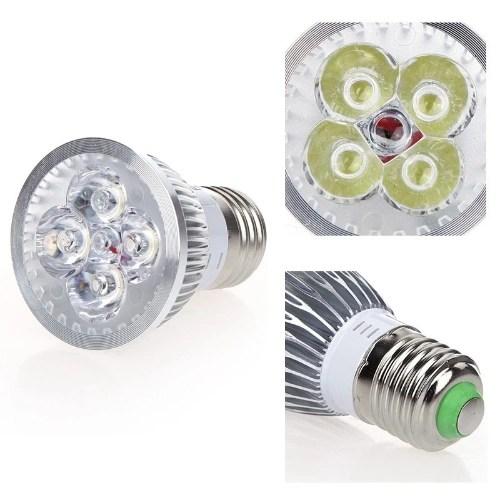 Dimmable LED Light Spotlight Lamp Bulb White 4W E27 185-265V Energy-saving