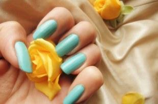 china glaze指甲油試色 For Audrey (Tiffany blue)