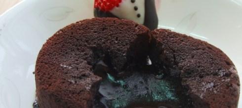 岩漿巧克力蛋糕做法
