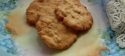 玉米脆片椰子餅乾做法