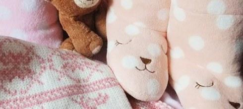 [分享] 粉紅色的暖冬~梨花熊保暖拖鞋靴,蝴蝶結靠枕