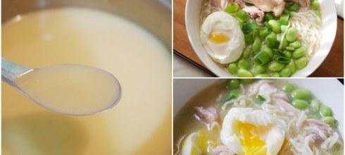 [食譜] 豚骨高湯做法,濃白高湯,拉麵高湯做法