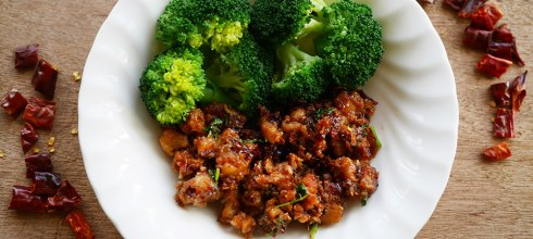 [食譜] 泰式豬油渣炒辣醬 (搭配蔬菜的醬料) น้ำพริกกากหมู