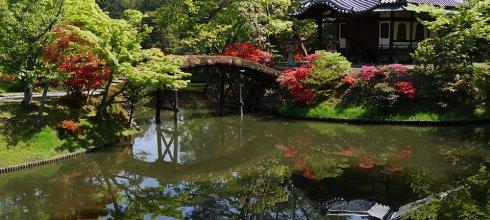 [自助旅行] 京都,春季桂離宮,日式庭園傑作