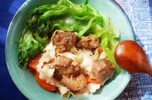 [食譜] 家常燉牛肉做法,家常番茄牛肉麵做法(中西混合版)