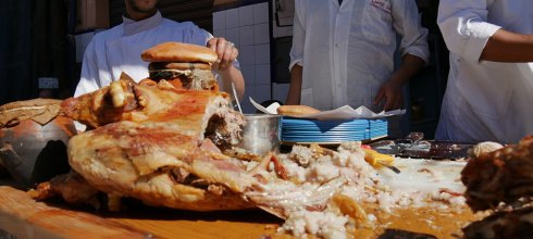 [自助旅行] 摩洛哥馬拉喀什烤全羊餐廳推薦,Chez Lamine Hadj Mustapha