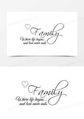 family素材_family图片_family免费模板下载_熊猫办公