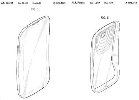 Samsung deposita un brevetto per uno smartphone con