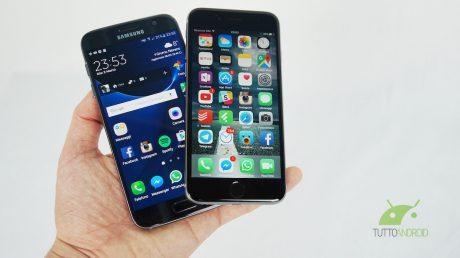 s7 vs iphone