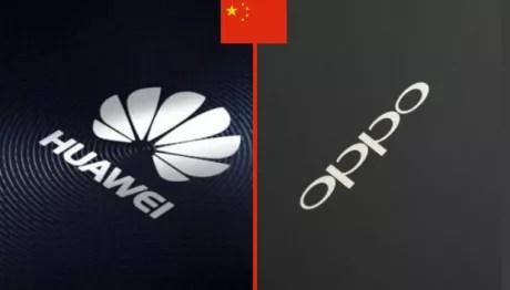 Huawei OPPO Cina