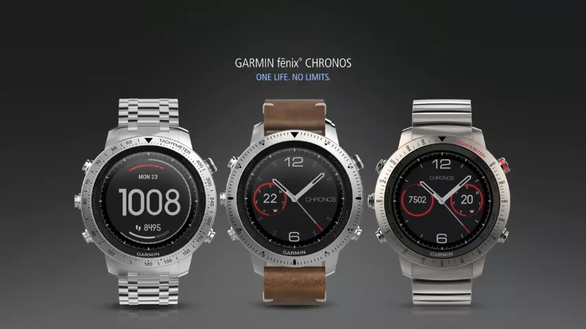Image result for The Garmin Fenix Chronos