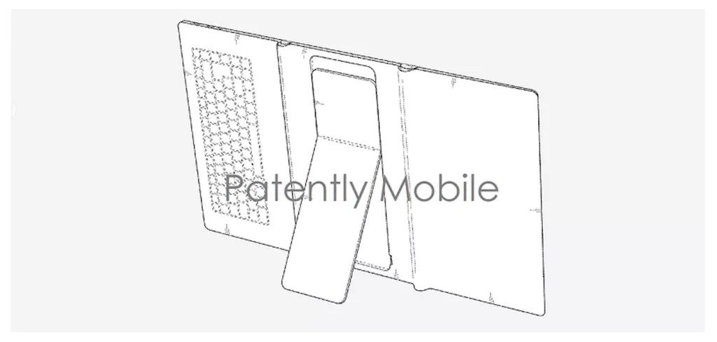 Samsung brevetta di nuovo un dispositivo pieghevole