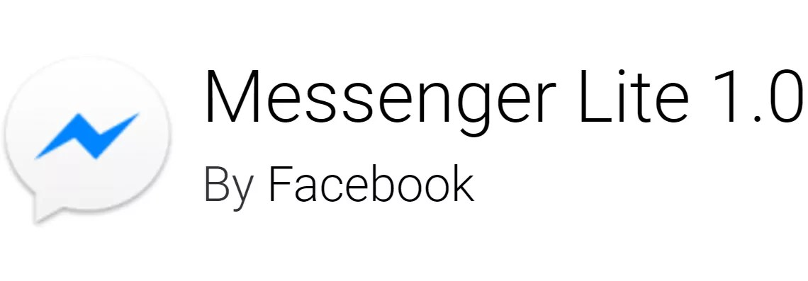 Download APK Messenger Lite per Android
