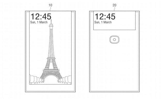 Samsung ha brevettato un selfie-phone con display posteriore