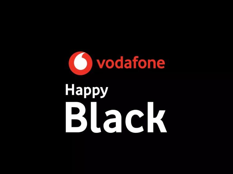 Vodafone Happy Black sconta un monopattino elettrico e prodotti per l'igiene