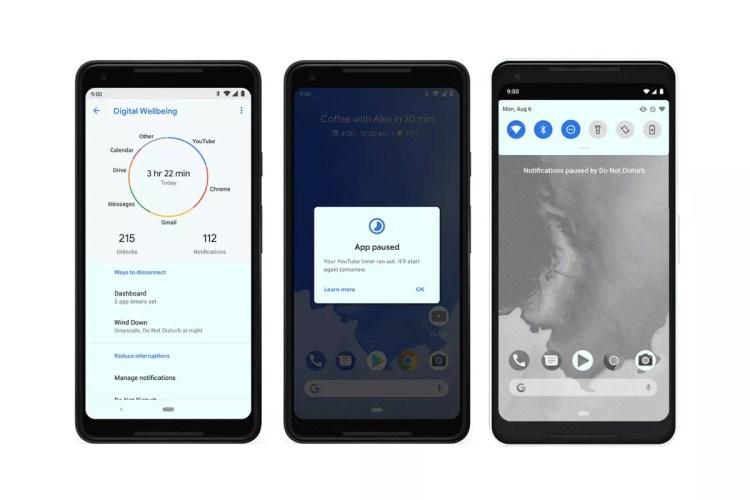 Benessere digitale vi mostrerà quante volte sbloccate il telefono con un wallpaper