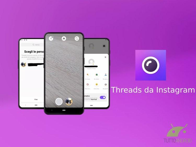 Instagram ridisegna l'interfaccia dell'app Threads