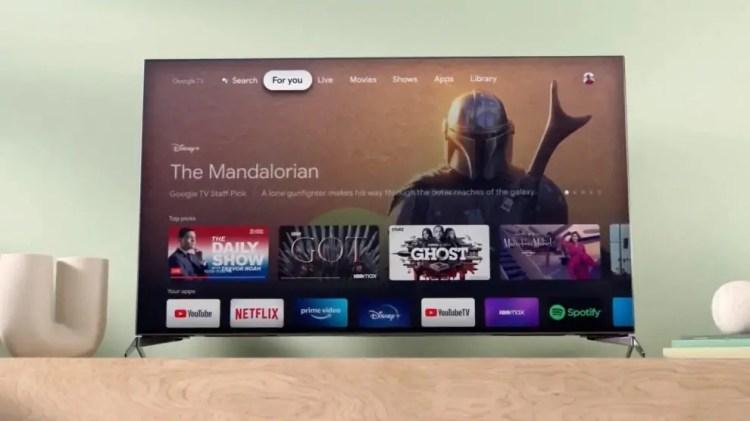 Google TV è tra noi, con tante novità e una interfaccia più razionale