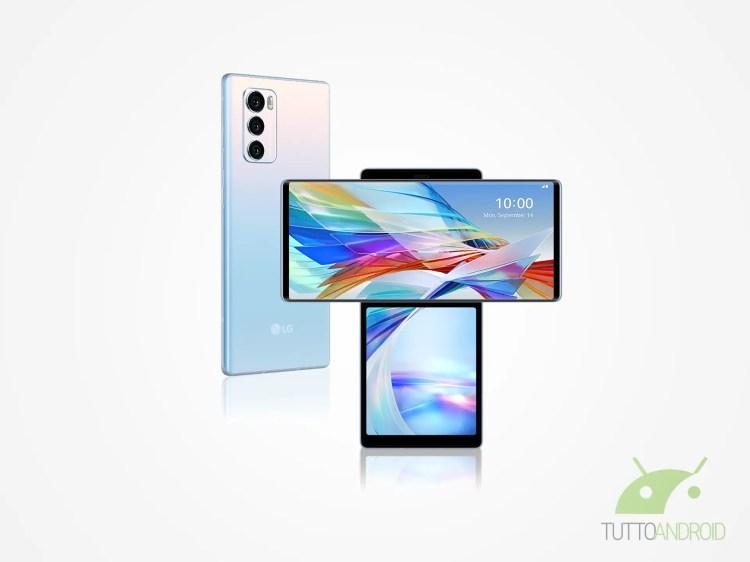 LG WING: ecco come è fatto lo smartphone alato di LG