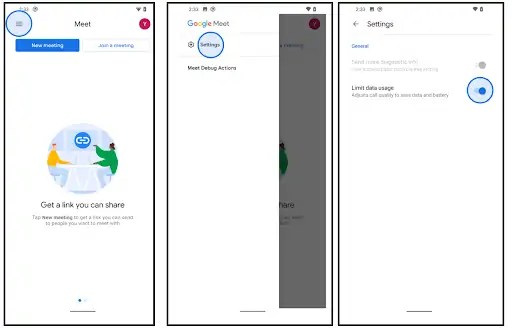 google meet maps gboard risparmio dati riciclare rifiuti novità