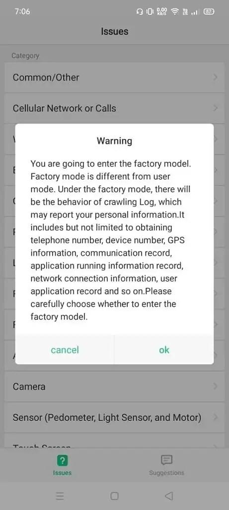 android codici nascosti