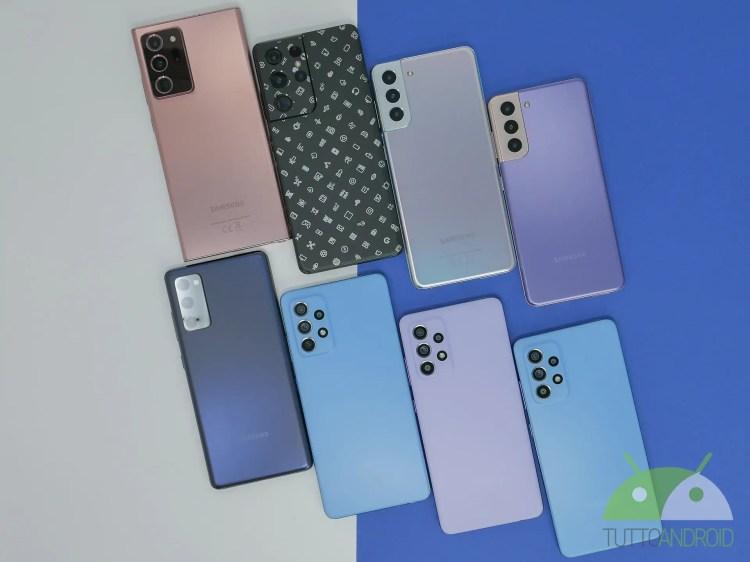 I Samsung Galaxy S21, S20 FE, Tab S7, S7+ scontati di 150 euro con questi codici