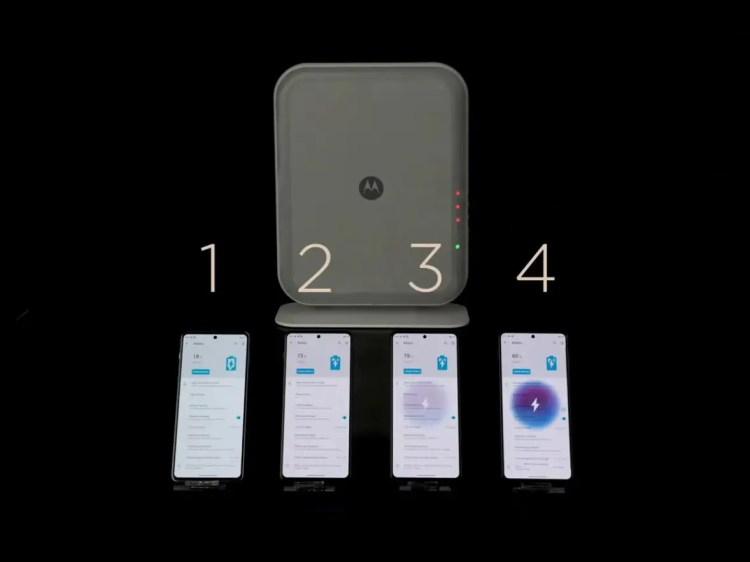 Motorola mostra il futuro della ricarica wireless dal suo punto di vista