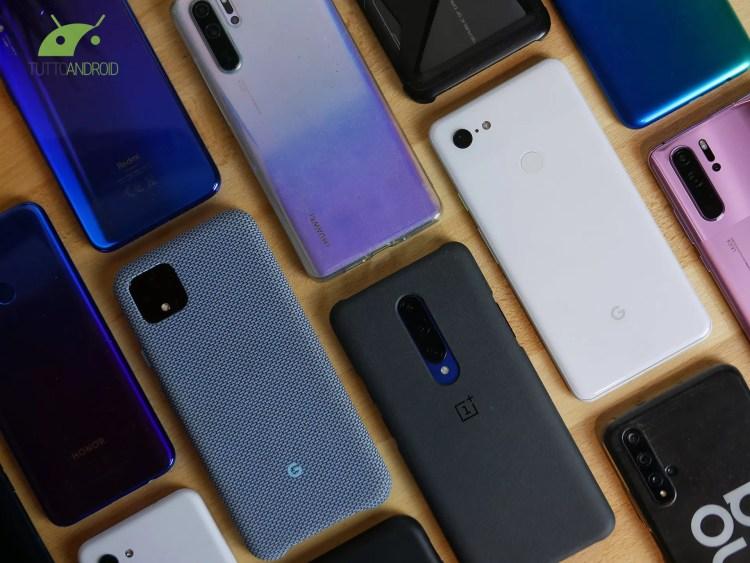 Gli smartphone sotto i 400 dollari guidano il mercato nel 2020