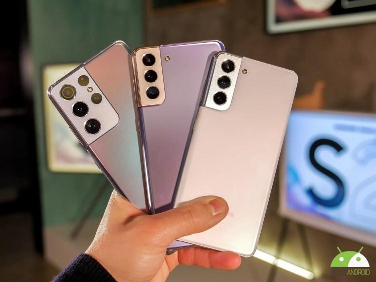 Sconto immediato per la serie Samsung Galaxy S21 da Unieuro