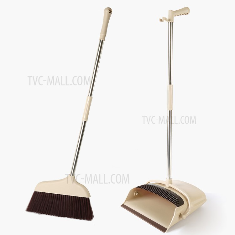 kitchen broom best quality cabinets floor garden sweeping cleaning house sweeper dust pan set for outdoor indoor tvc mall com