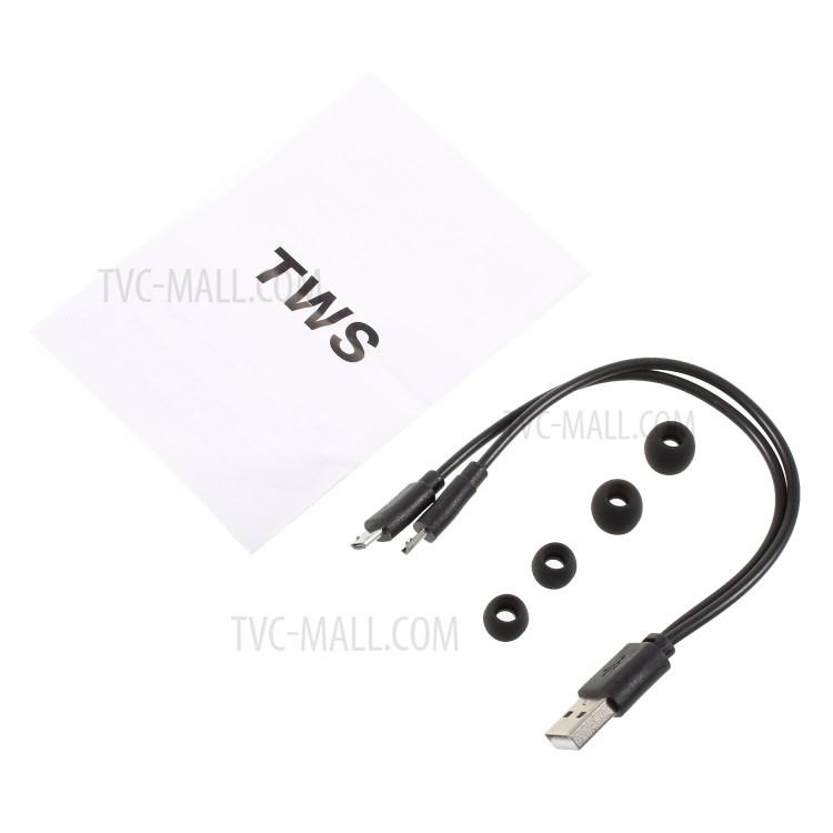 DS-13 TWS Wireless Bluetooth Earphone Mini Binaural In-ear