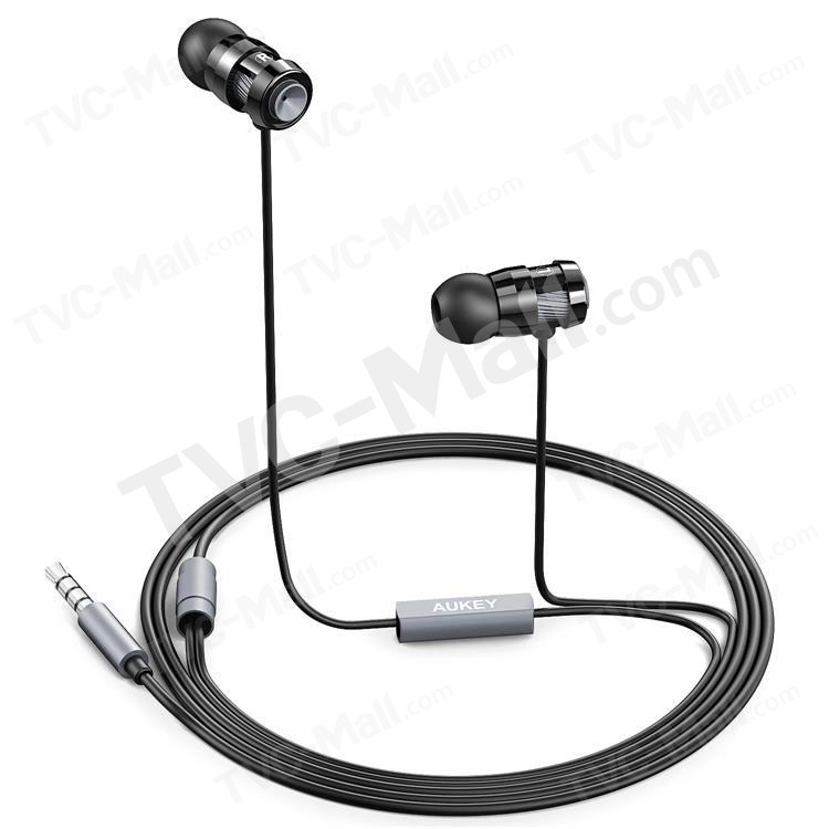 AUKEY EP-C2 3.5mm Metal In-ear Earphone with Mic for