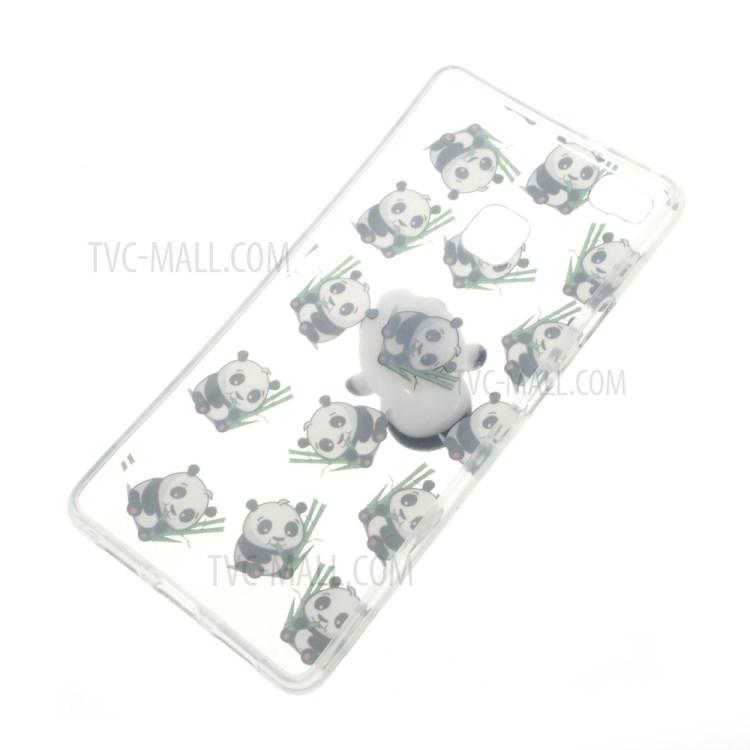 Squishy Soft 3D Silicone Pinch Panda TPU Case for Huawei